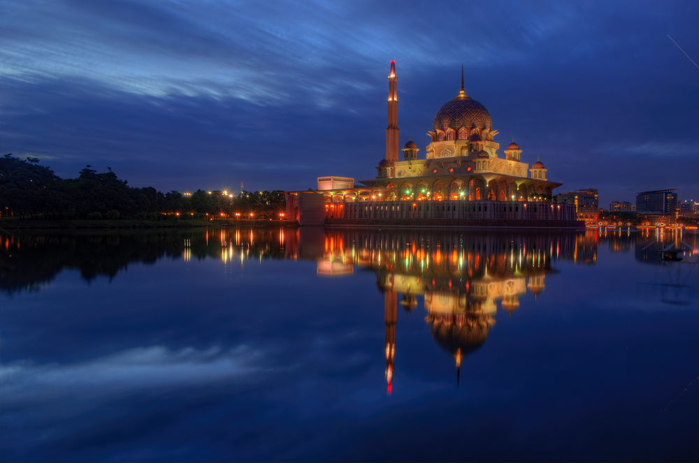 Blue Hour Reflection by Shahrir Nawawi