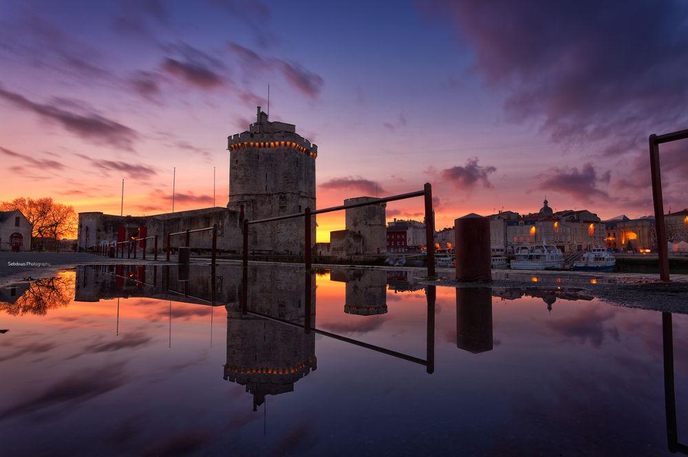 Sunset Reflection 2 by Sebastien Gaborit