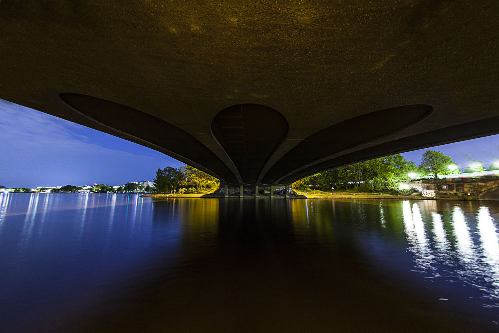 under the bridge by berndwilleke