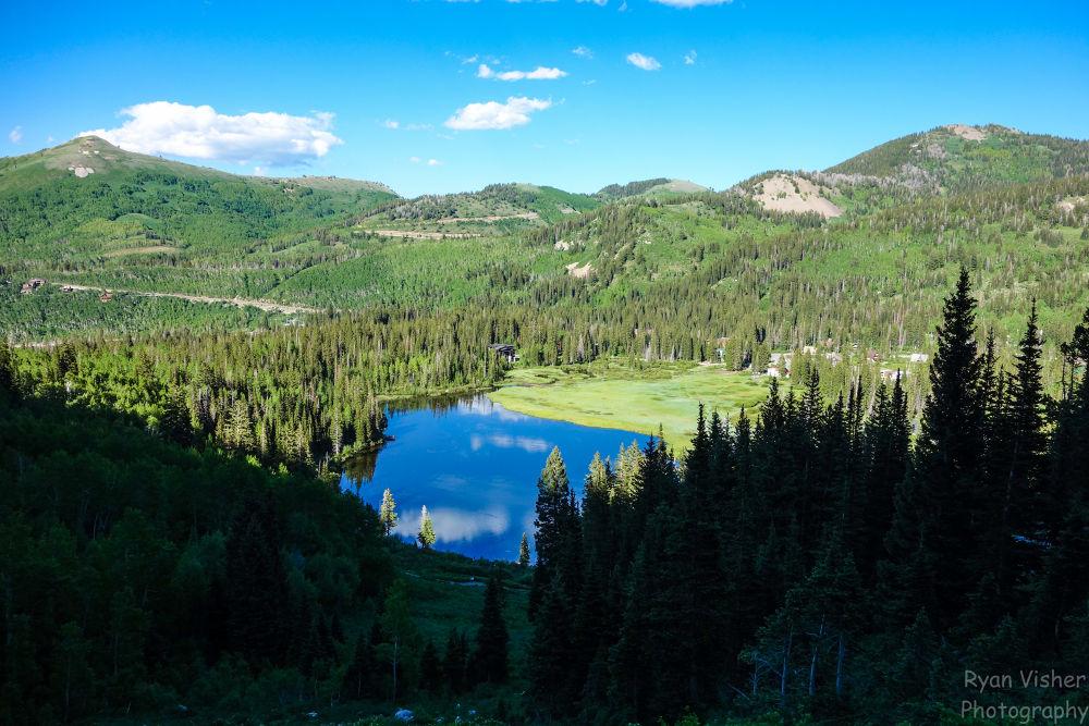 Silver lake Brighton Utah by ryanvisher