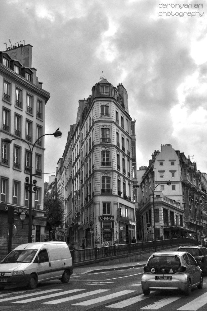 Photo in Random #france #paris #city street #photo #black and white