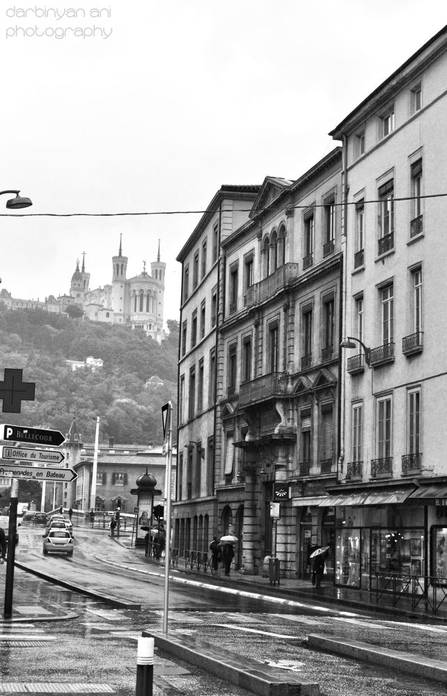 Photo in Architecture #lyon #france #city #black and white #photo