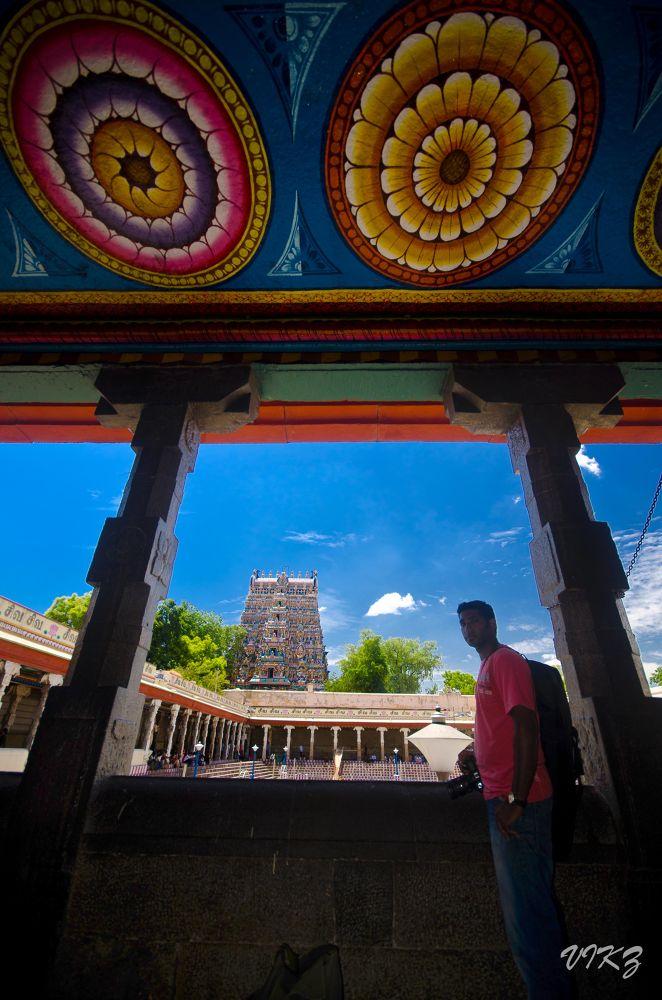 Madurai Meenakshi Amman Temple by Vikz