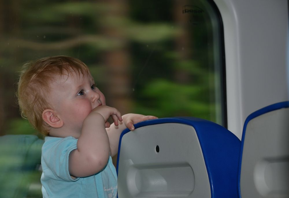 In the train by habibi27