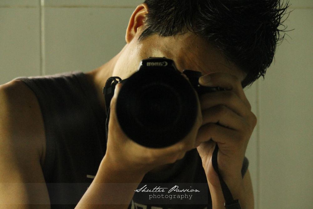 self portrait shot :-) by akrudolie