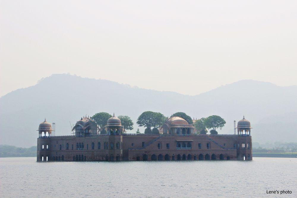 Jal Mahal, Water Palace, Jaipur by lenejohansen969