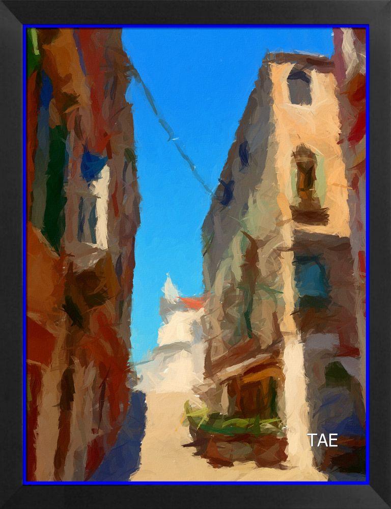 Gasse Venedig by ThomasEichmann