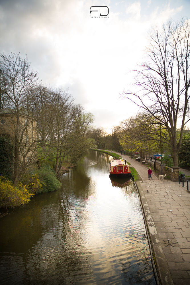 Saltaire canal by Khalid_Fineza  Details
