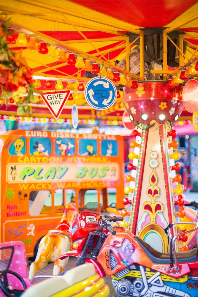 colourful fun fair ride by Khalid_Fineza  Details