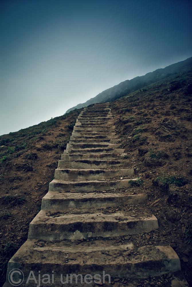 Stairs by ajaiumesh