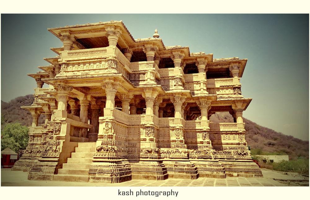 Navlakha Temple by Caushik