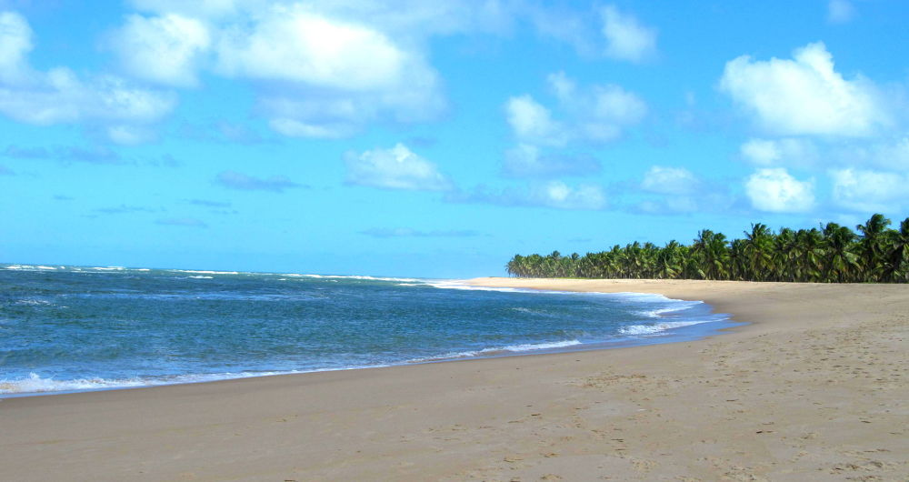 Sea and Sand in Maceio Brazil by simonp