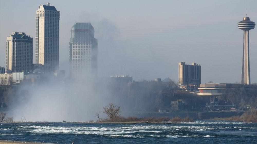 Niagara Falls Skyline by simonp S&R Photography