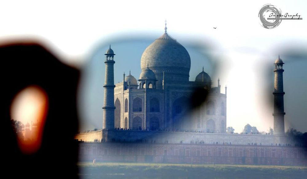 Photo in Architecture #taj #taj mahal #agra #wonder #india #architecture #mughal