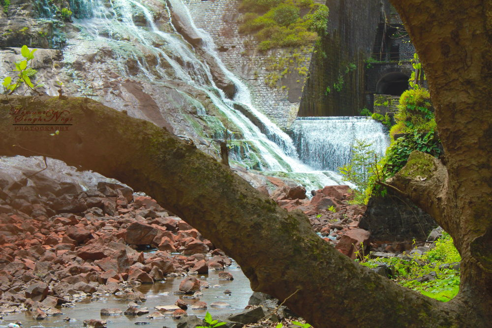 A Cool Waterstream by HEMANT SINGH NEGI
