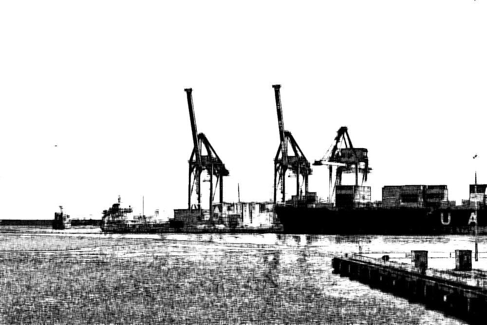 Genova: the port 2 by    MAX  PENTINETTI