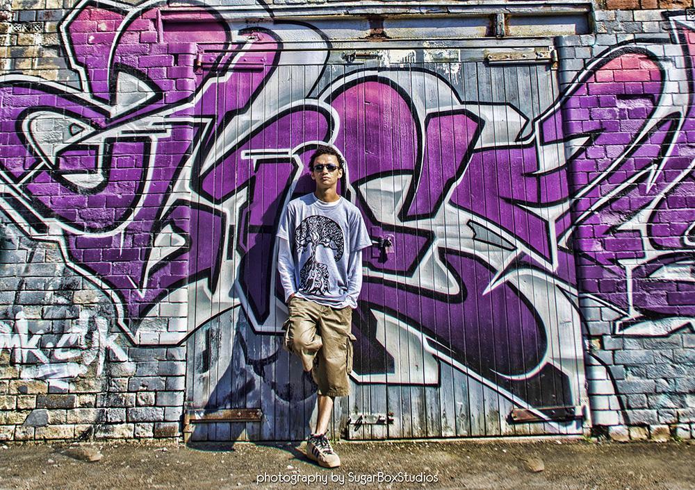 Photo in Portrait #portrait #grafitti #man #fashion