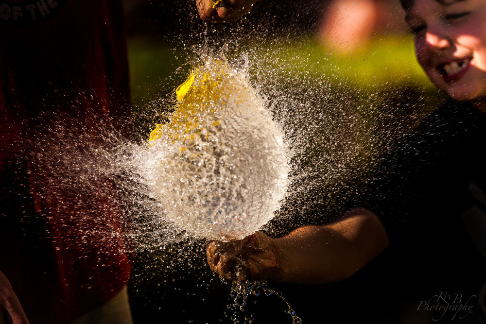 Water Balloon by americanbruce