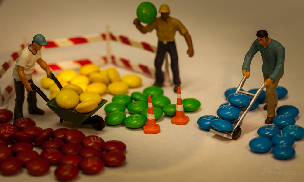 M&M sorting plant by americanbruce