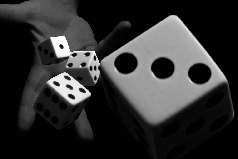 Rolling the dice by americanbruce