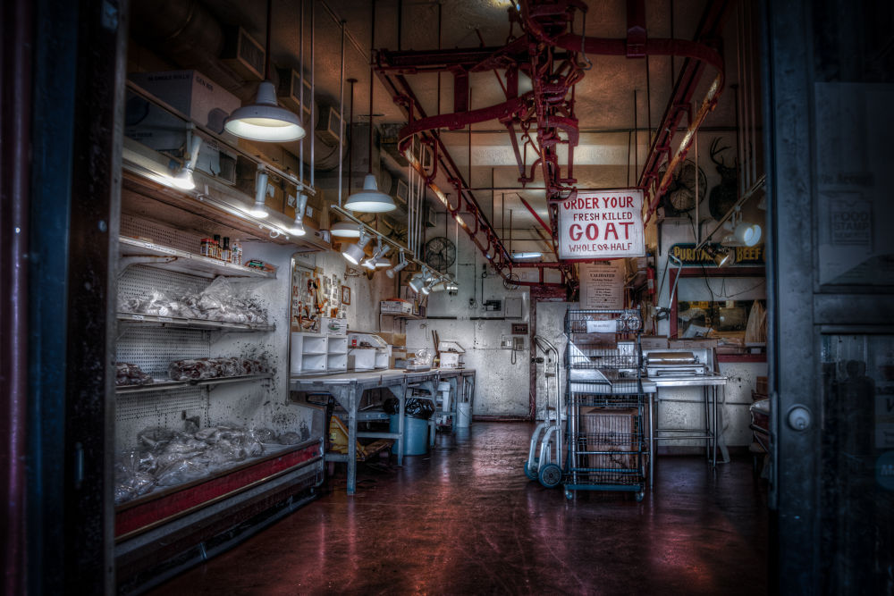 Butcher shop by americanbruce