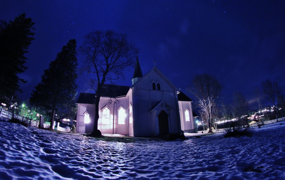 025...the church here at leland in leirfjord norway by vidar mathisen