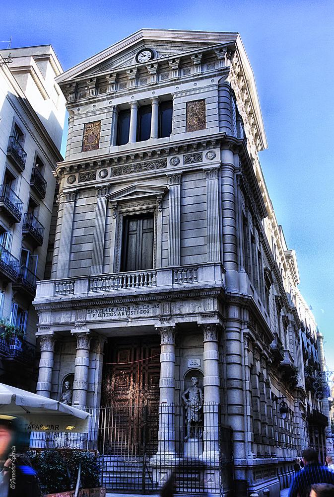Escuela de artes aplicadas y oficios artísticos (BARCELONA) by tordera
