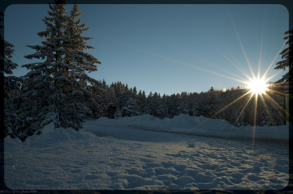 Sunrise on Semnoz / Annecy / France by TheGueux