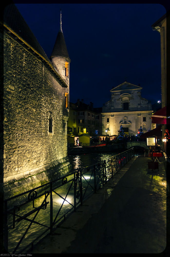 From the Island Palace / Annecy / France by TheGueux