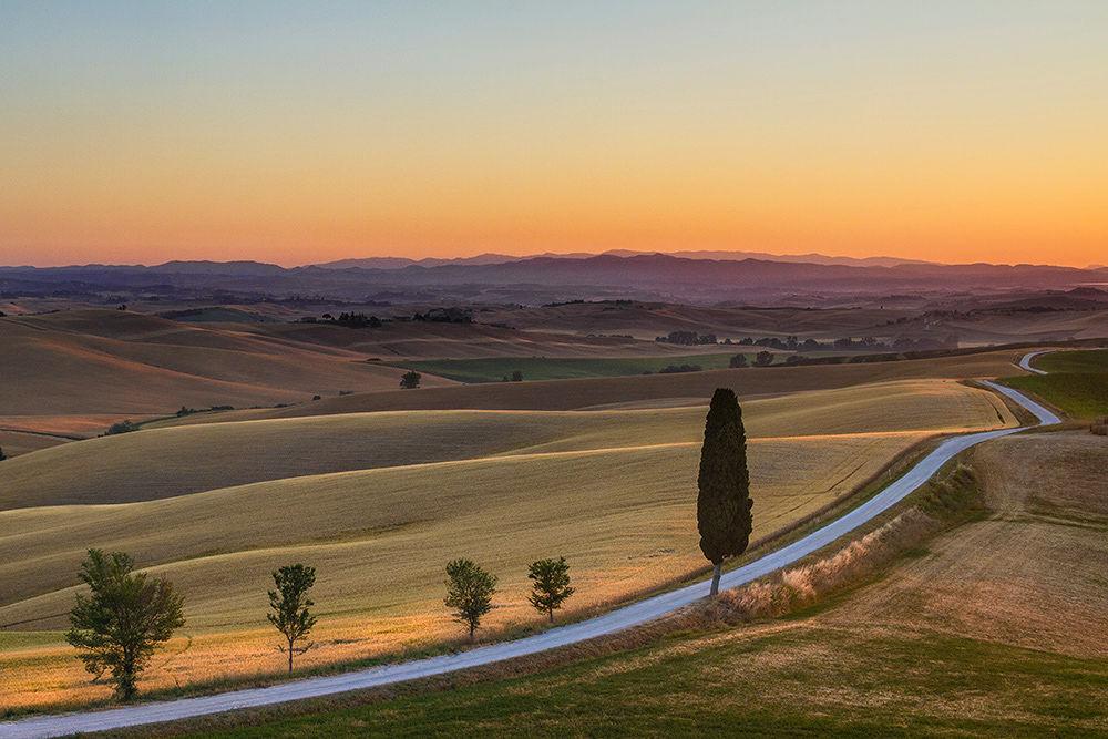 County road by dusanbrezovnik
