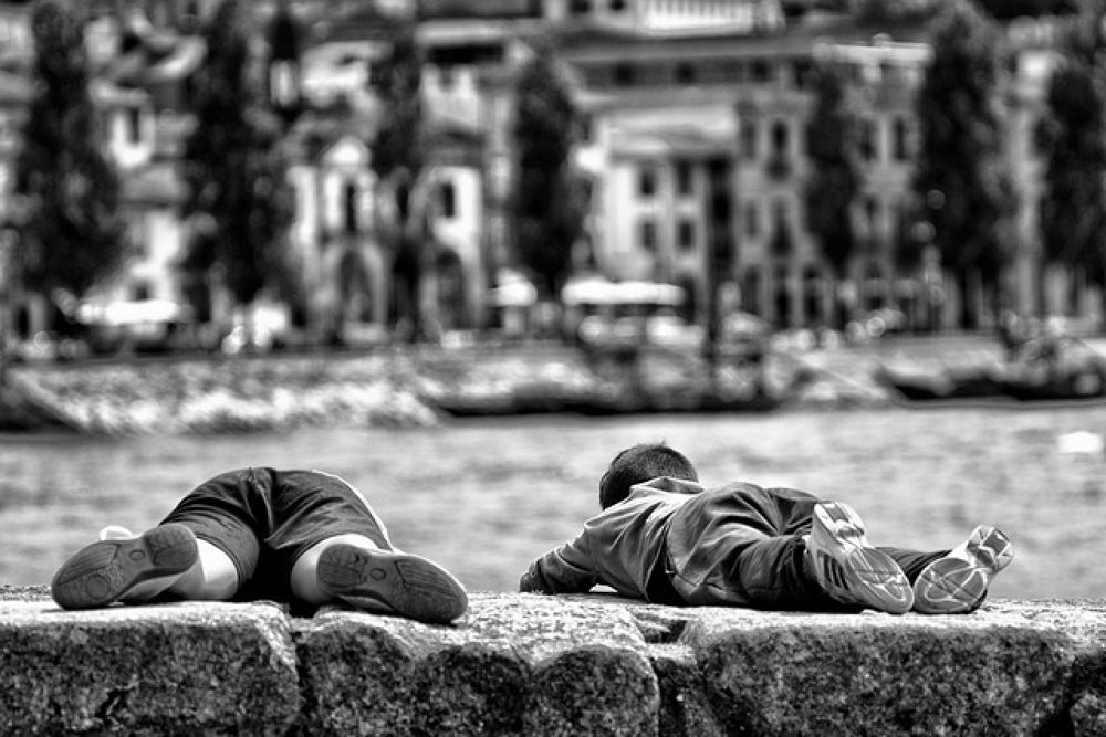 Kids by the river by paulomoreira7161