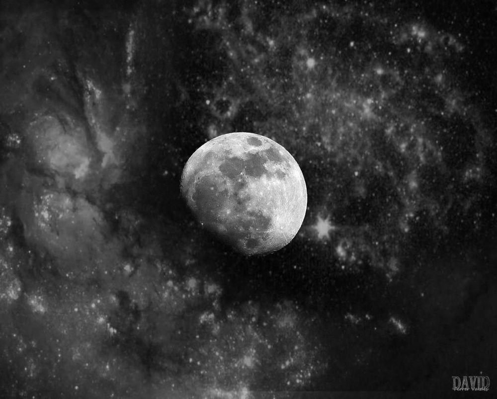 La luna acunada by davidferrervaldes