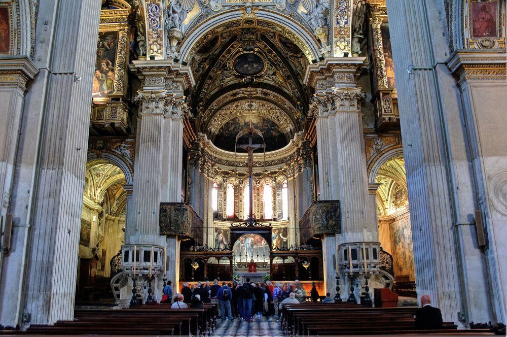 S. Maria Maggiore Bergamo Alta (Italy) by mariocinguino