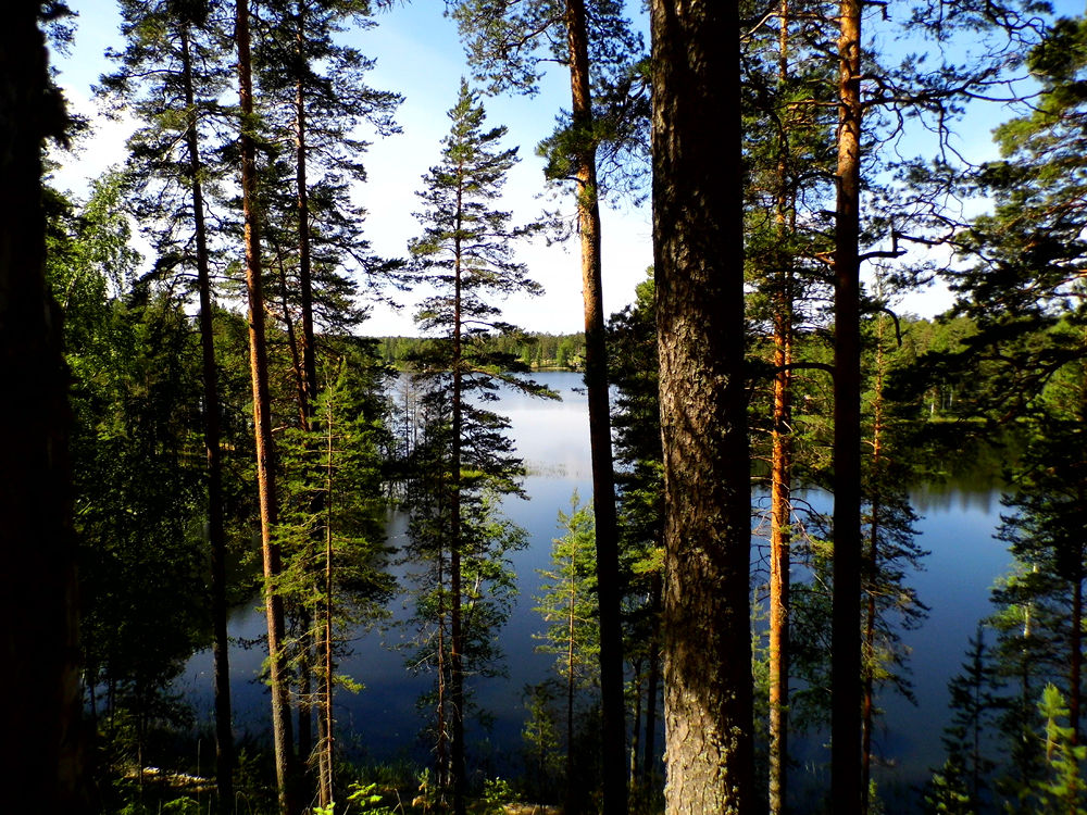 Punkaharju is one of the Finnish national landscapes by AnnSoul