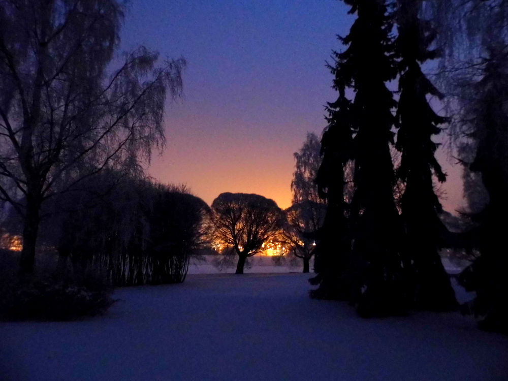 The sunrise  -20 degree by AnnSoul