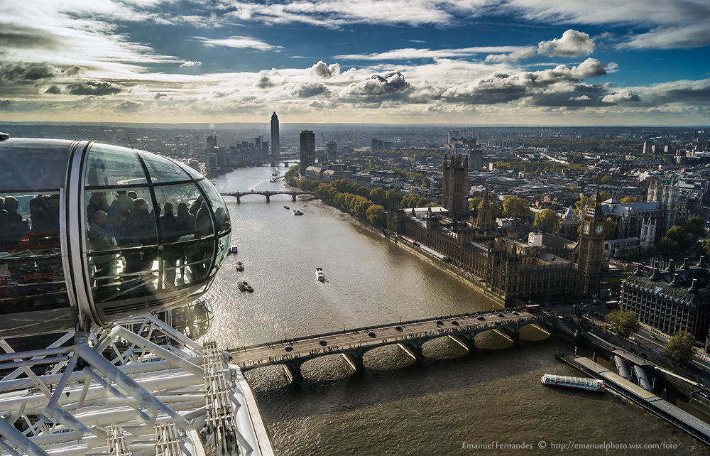 Beautiful view - London - http://emanuelphoto.wix.com/foto by emanuelfernandes1