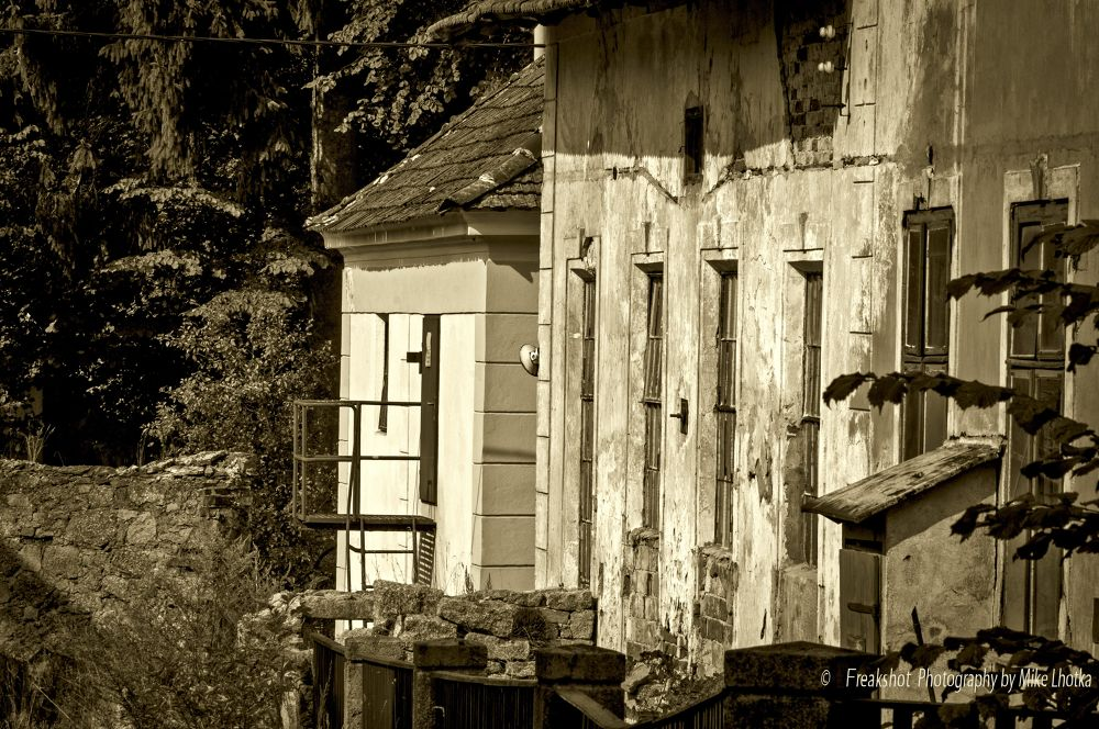 old houses by FreakshotPhotography