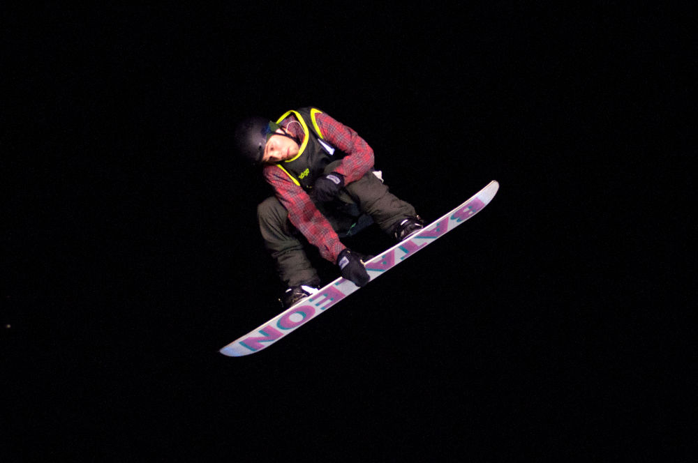 Night snowboarding by FreakshotPhotography