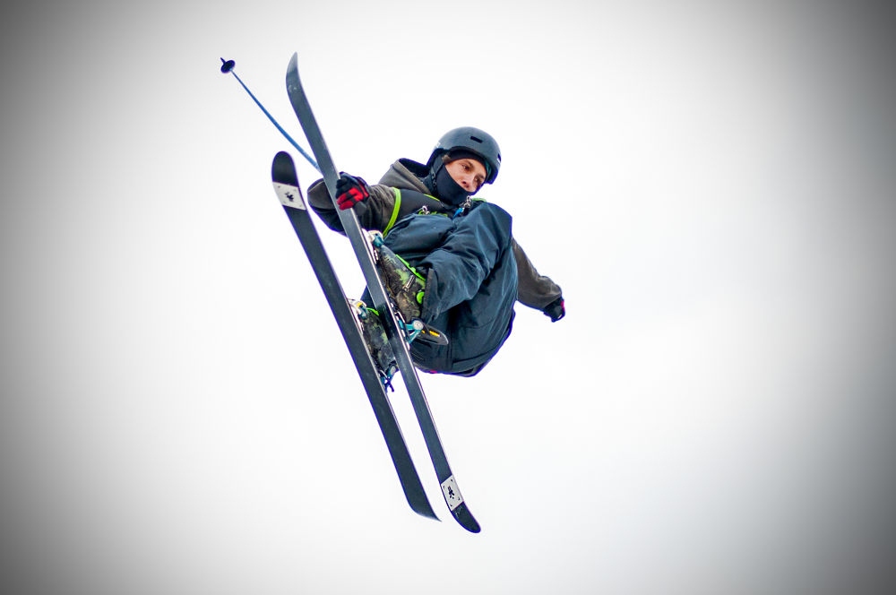 Freeski Flyer by FreakshotPhotography