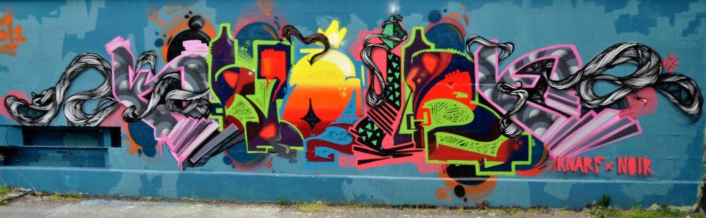 Vienna Graffiti by FreakshotPhotography
