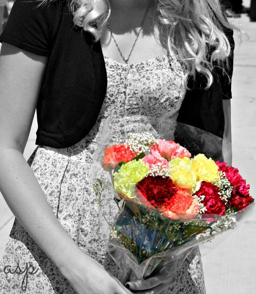 Grad Flowers  by JerryScott