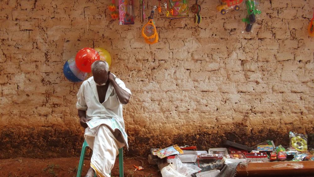 Toy Seller.... by Abhishek S T
