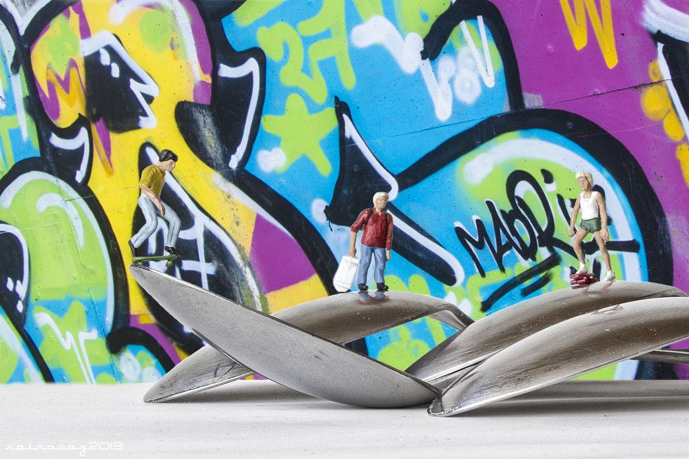 Skaters&Grafitti by ZacariasAbad