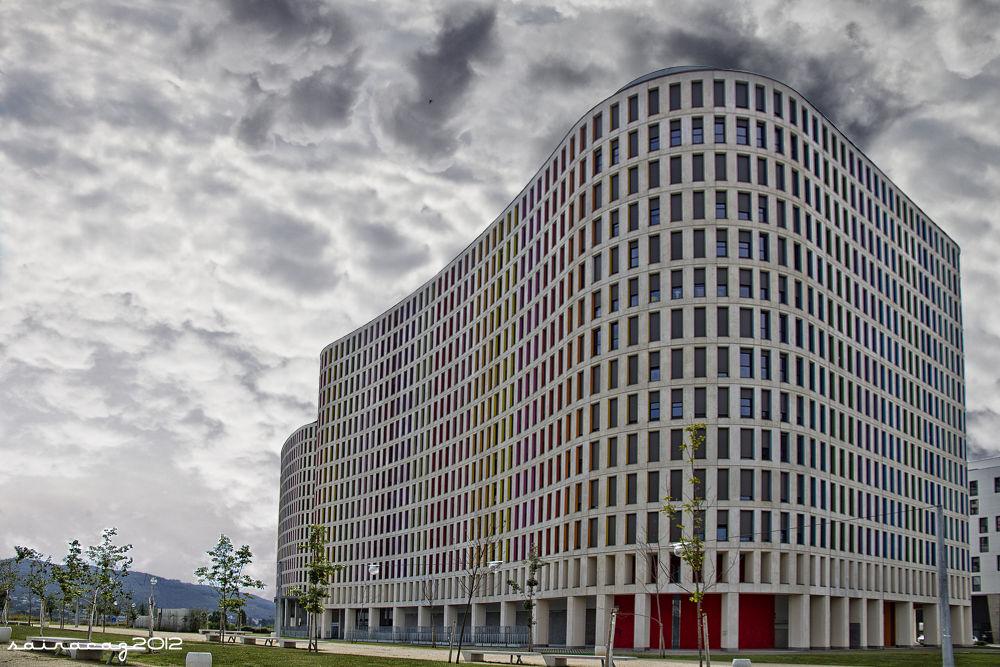 Edificio Xunta Navia X by ZacariasAbad