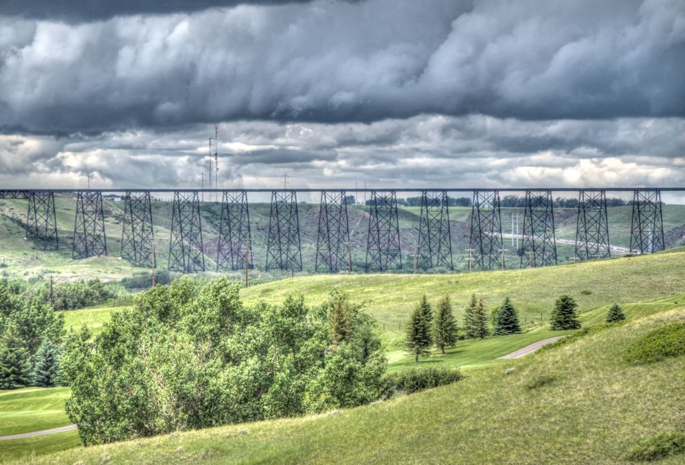 High Level Bridge, Canada by rndmtn