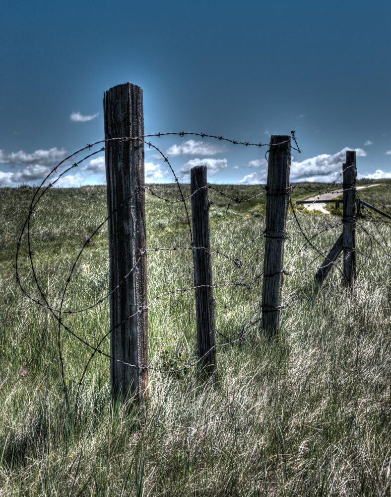 Prairie Fence by rndmtn