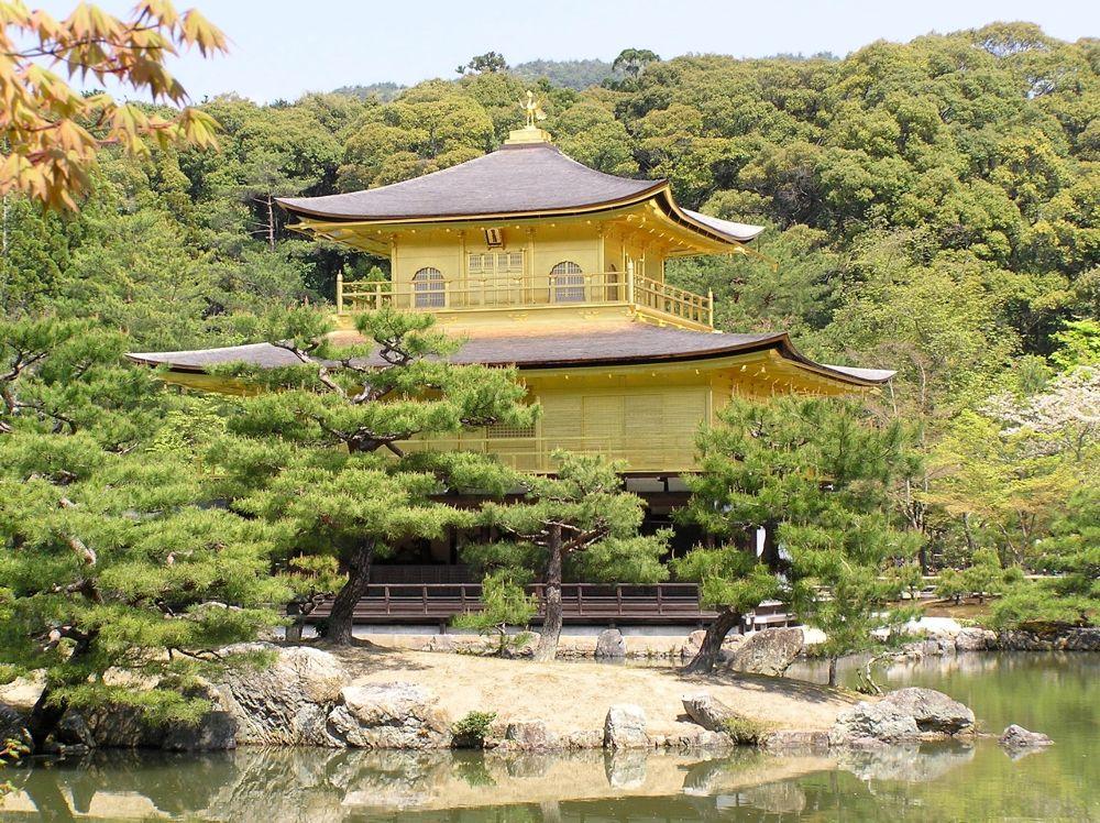 Golden Palace, Kyoto by rndmtn