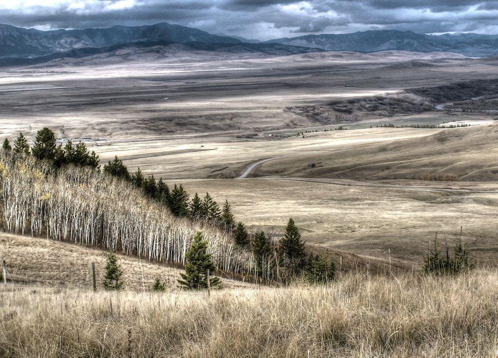 Porcupine Hills, AB by rndmtn