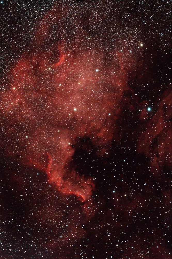 North America - NGC 7000 by Nicola Tosi