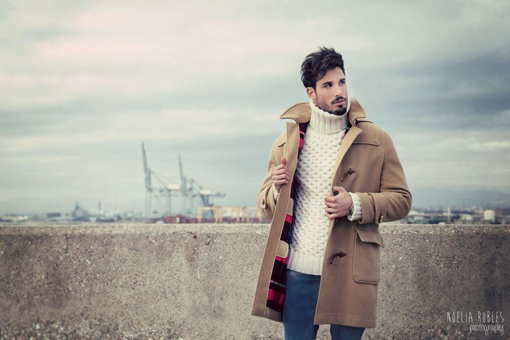 Photo in Fashion #portrait #moda #model #color #winter #mirada #expression #man #chico #canon